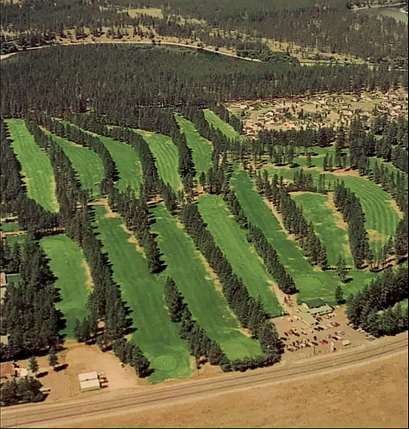 Aerial view of the former Sundance Golf Course